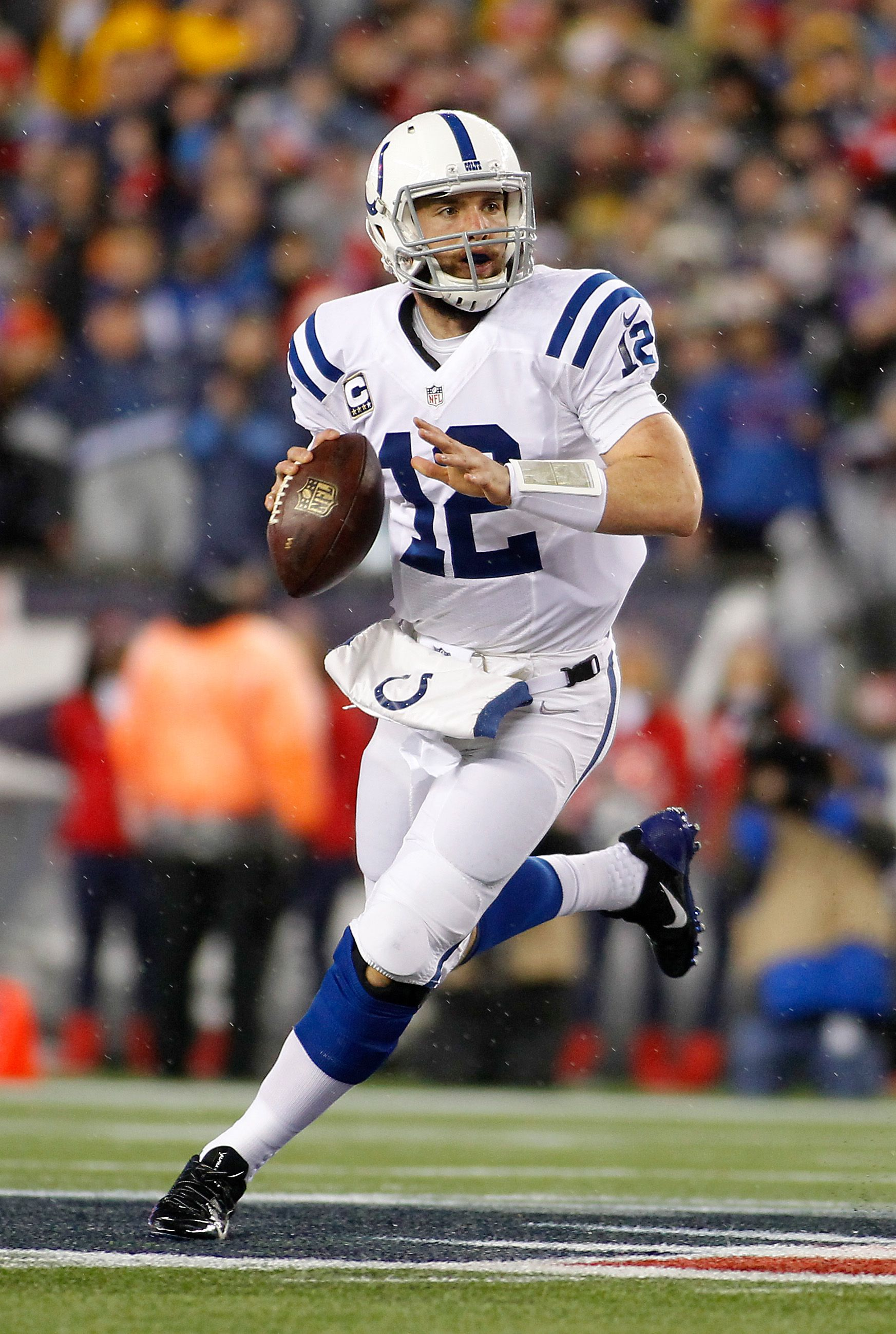 08 Quarterback Andrew Luck, Ind. Colts for 2018. Nfl