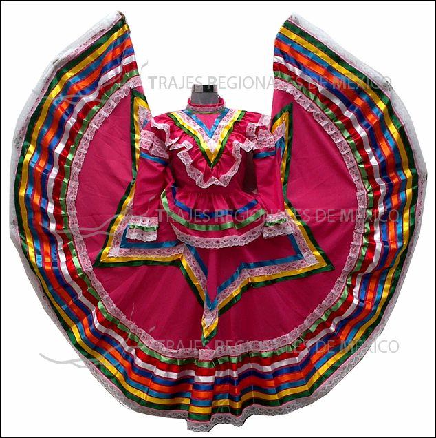 Traje Regional De Jalisco Vestido De Jalisco Adelita