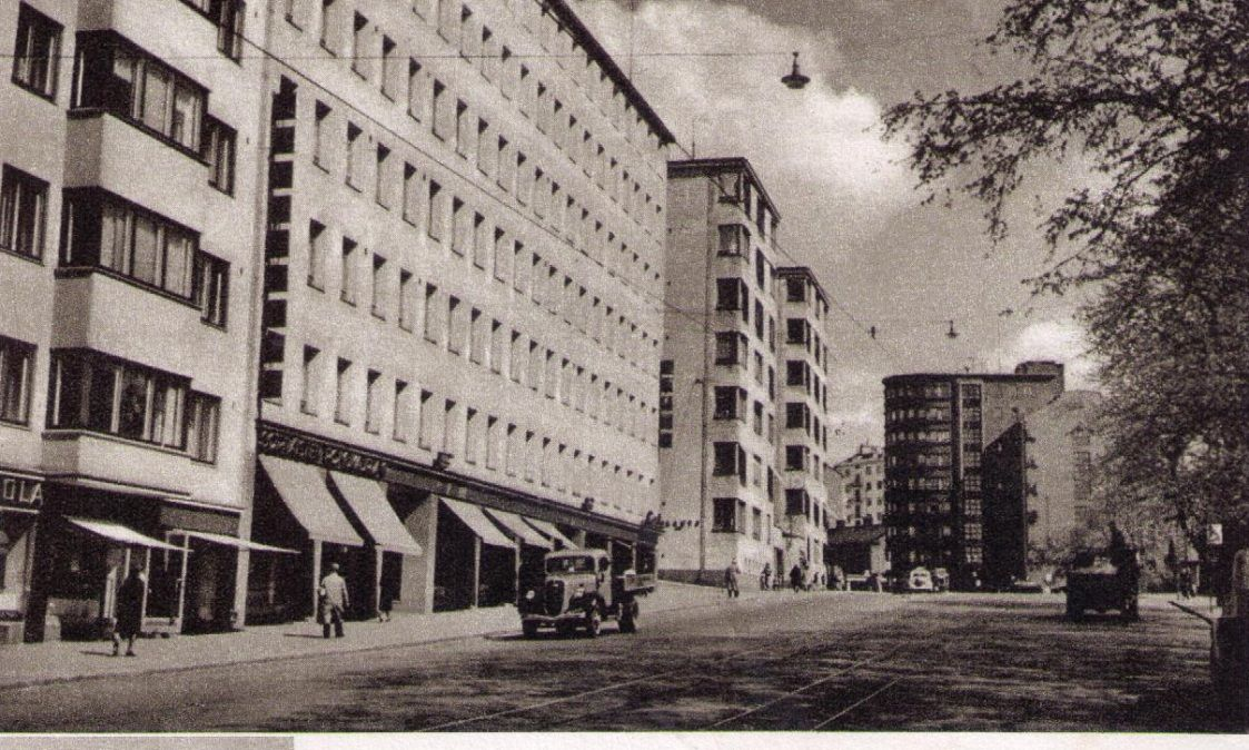 Hameentie 1950 Luku Helsinki Kuvat Suomi