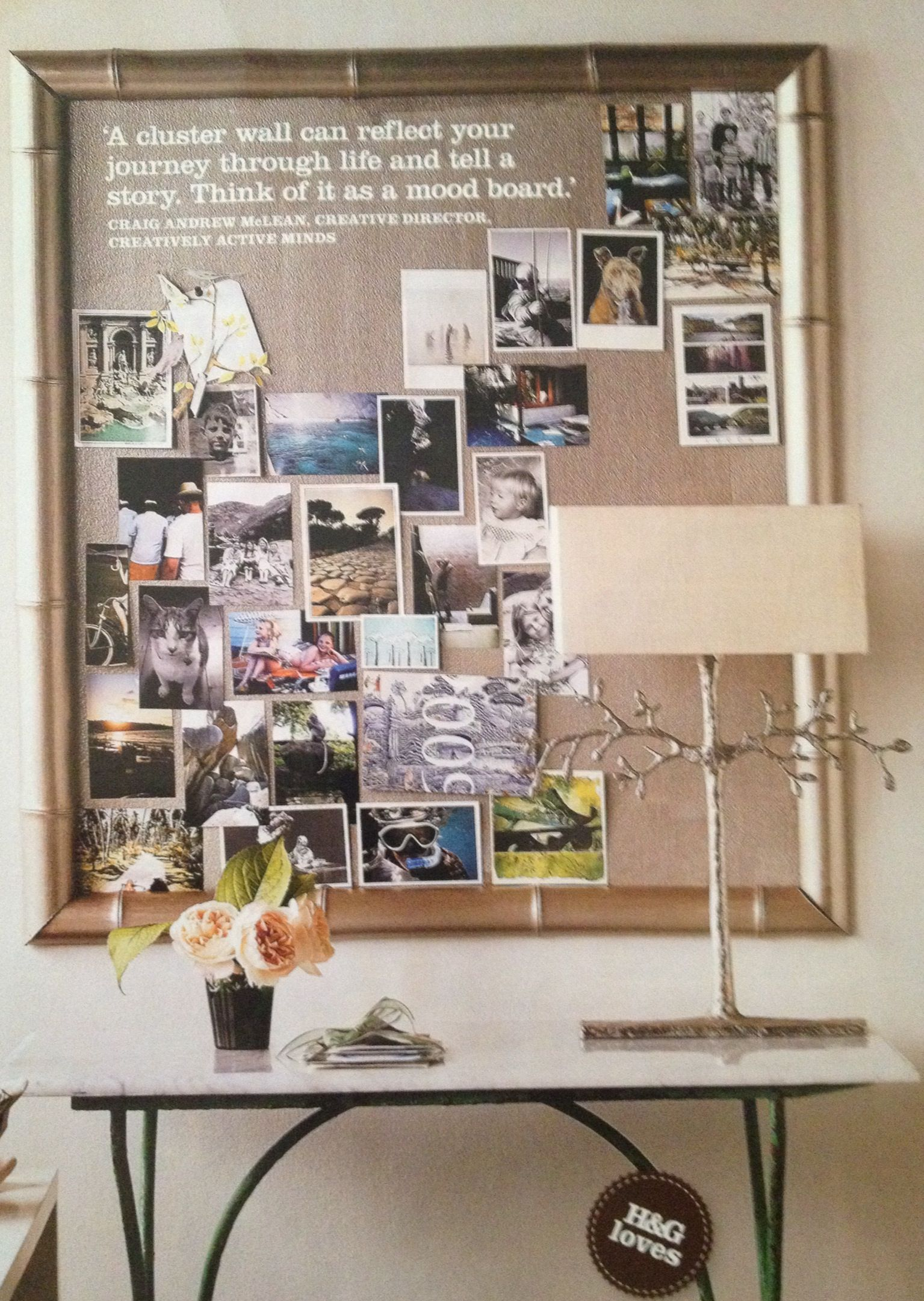 Vision board vision board samples pinterest for Minimalismus haus tour