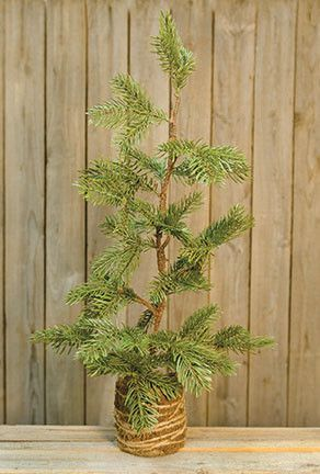 Like the cartoon, this Charlie Brown Tree is long, sparse, and
