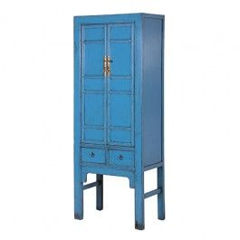 Distressed Blue Chinese Cabinet only £599