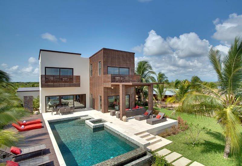 Gu a casas modulares 2 plantas precios lujo arquitecto - Viviendas modulares diseno ...