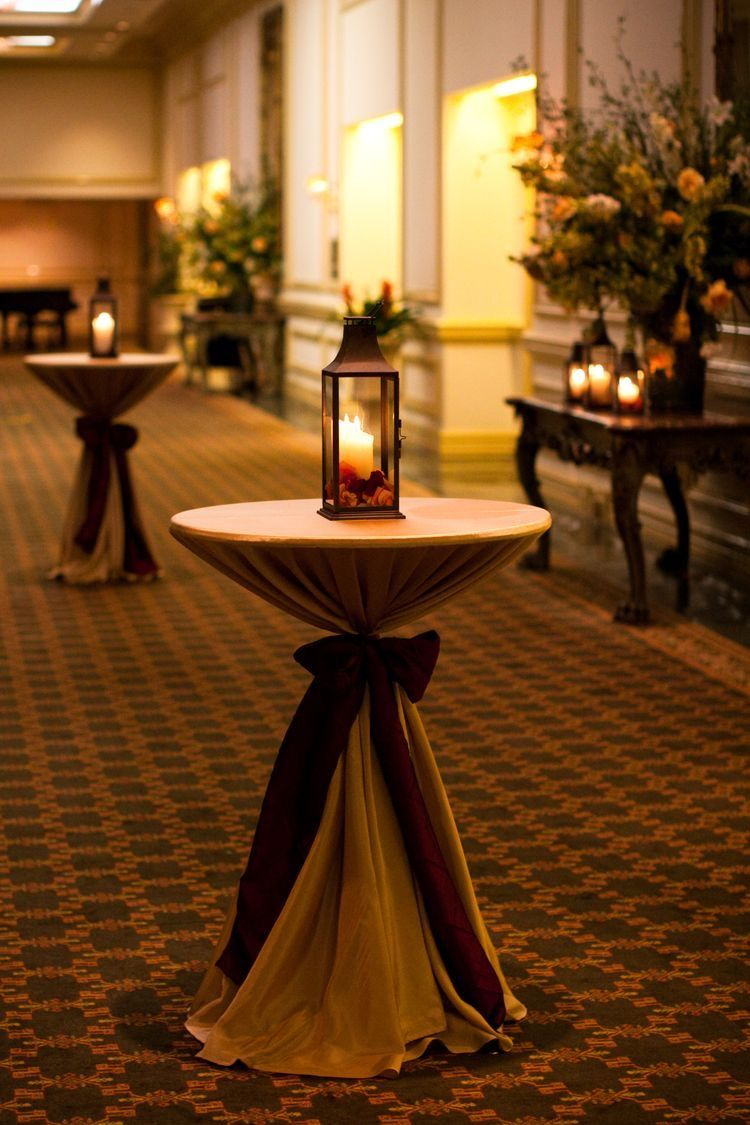 Cocktail Engagement Party Ideas Part - 32: Tall Cocktail Tables Located In The Grand Hall For A Cocktail Reception.  This Is Happening!