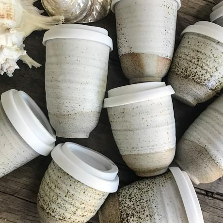 Beautiful reusable ceramic coffee cups that you can keep using forever. Saving the planet one cup at a time. Get your Planet Cup today and stop the waste. #coffeecup