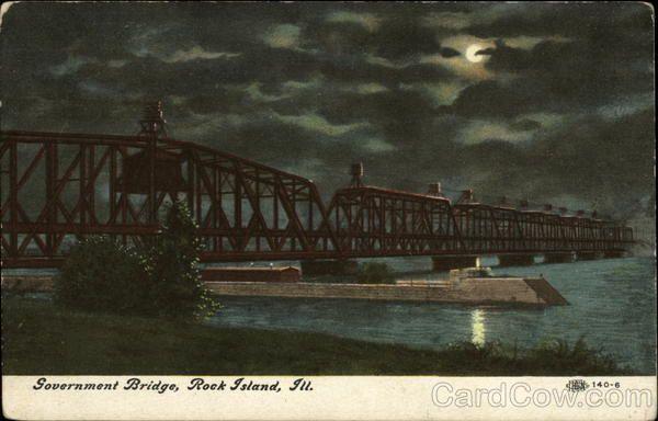 Government Bridge Rock Island Il Scary Bridges Rock Island