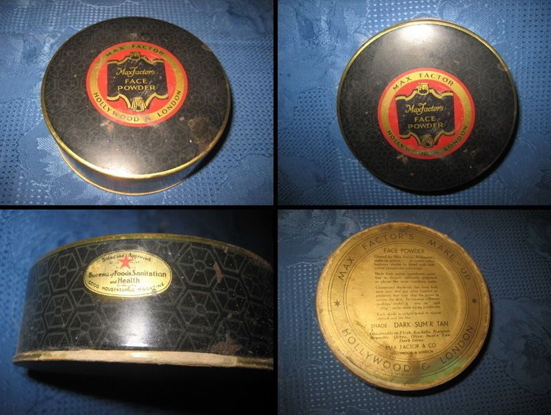 VANITY-POWDER CASES: Antique Vanity case Art Nouveau enameled brass, original. | eBay
