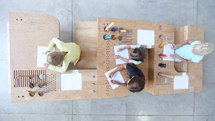 growth table- the coolest drawing table for children and adults