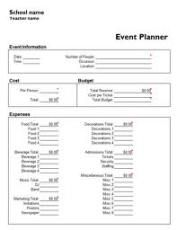 Event Planning Template Free Extraordinary You Don't Have To Recreate The Wheel To Get Good Event Planning .
