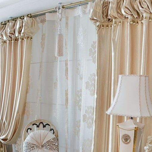 Cheap Living Room Curtains End Fashionable Champagne Gold Satin Living Room Curtain Two Panels Cheapwindow Curtains Satin Curtains Curtains Living Room