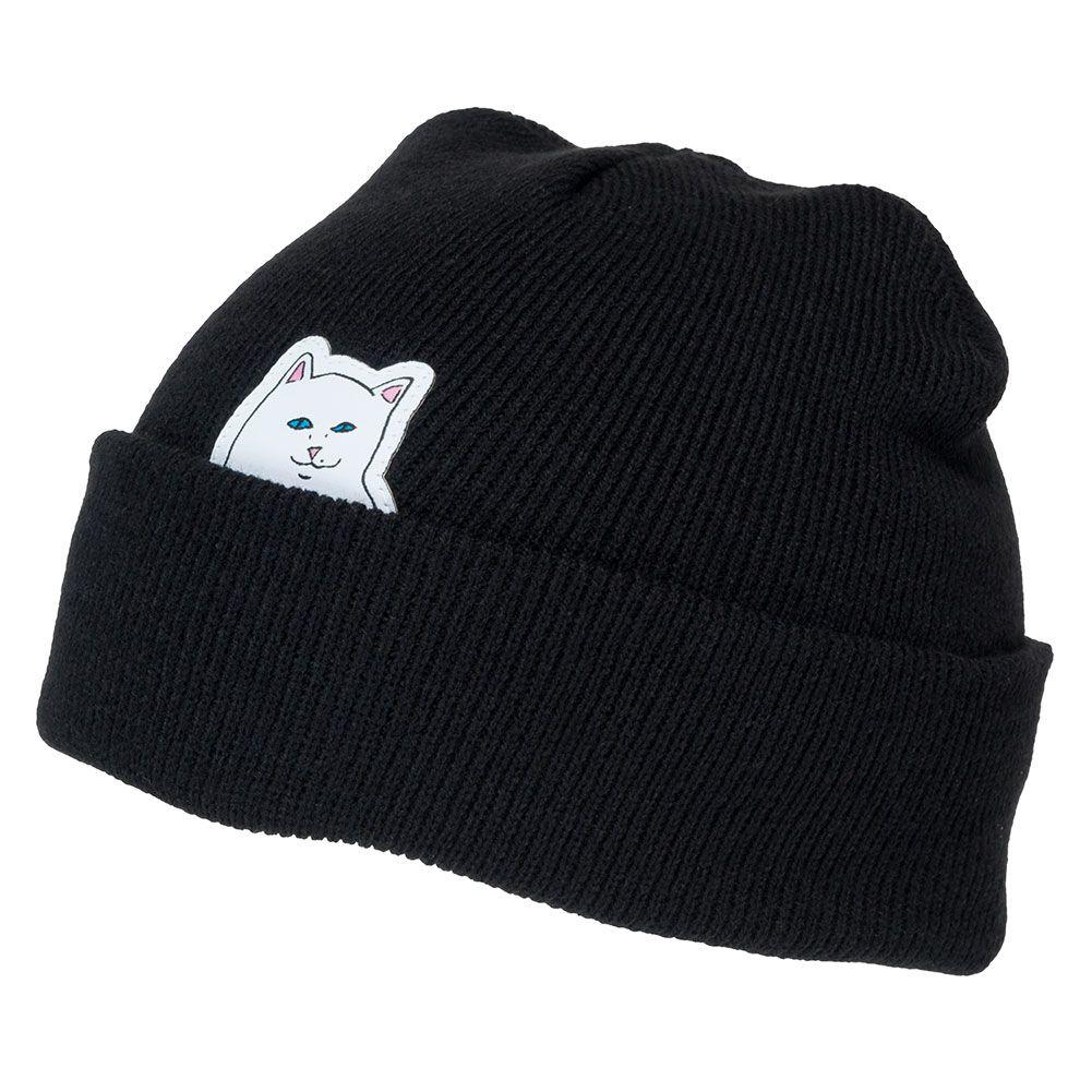 64b502cfb Rip'N'Dip Lord Nermal Cuff Beanie Black Available at Skate Pharm in ...