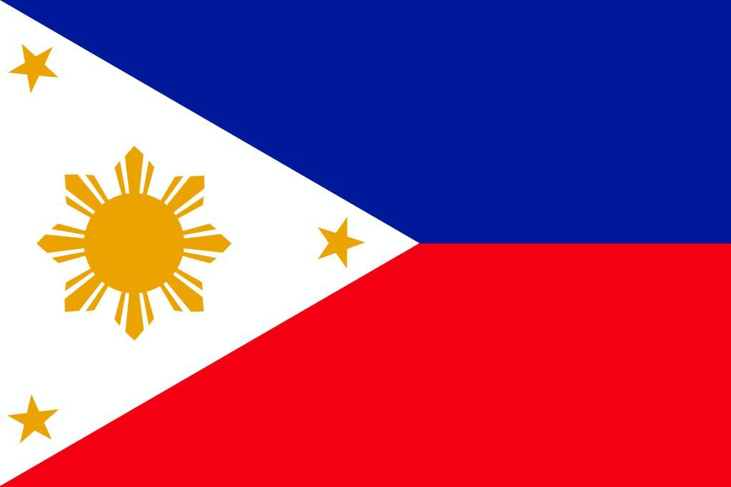 Philippines Challenges For The Growing Economy 10keythings Flag Coloring Pages Philippine Flag Coloring Pages