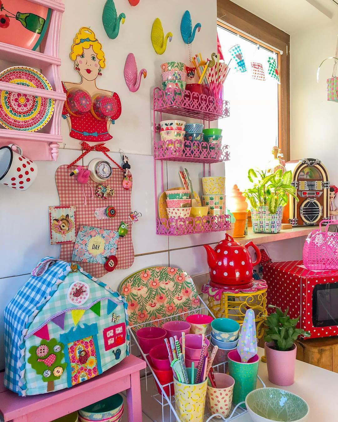 Colorful Kitchen Decor Pictures: Marfi-topia In 2019
