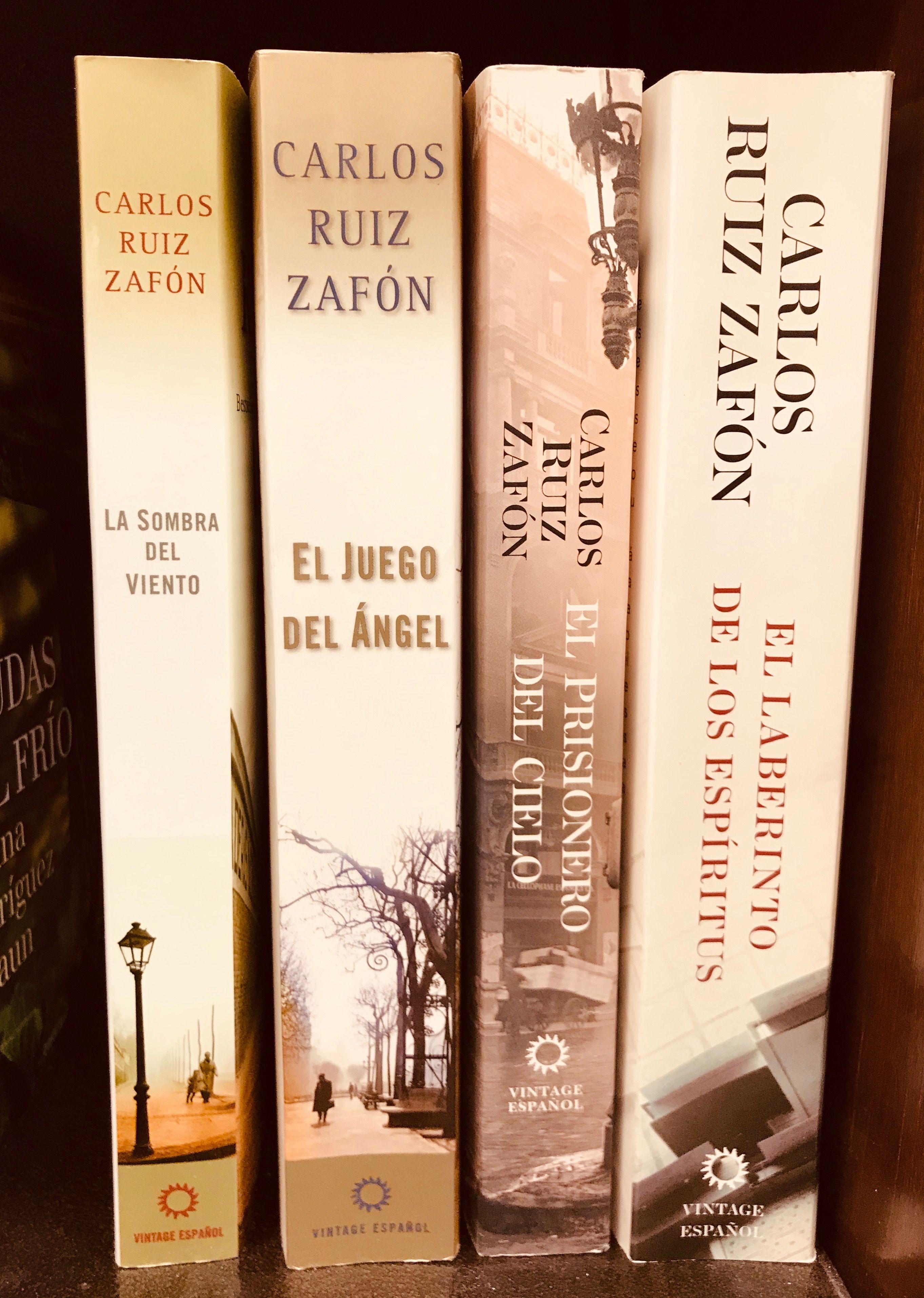 Tetralogía El cementerio de los libros olvidados, Carlos ...