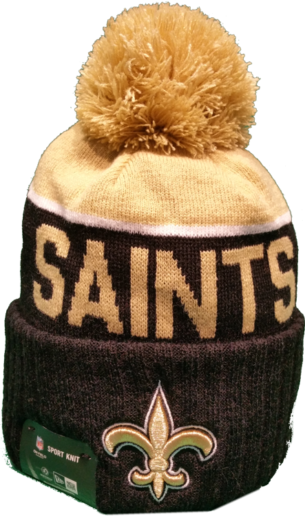 a95442396 New Orleans Saints Sideline Knit Pom Toque. Find this Pin and more on NFL  ...