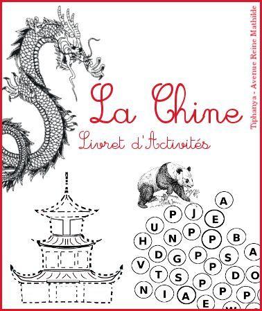 Livret d 39 activit s sur la chine la chine livret et chine for Apprendre les livrets
