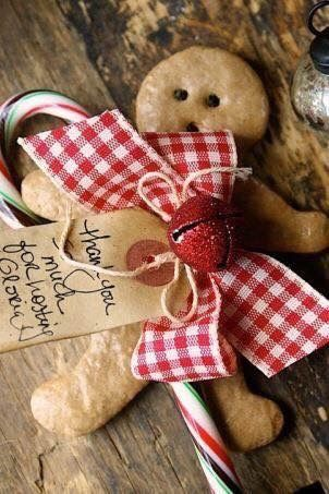 Christmas Hostess Gift or Christmas Dinner Place-setting Idea -A Texas Girl's Favorites