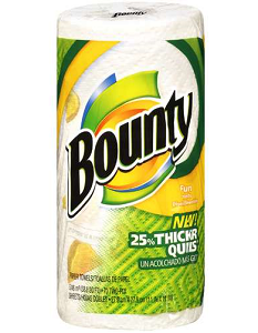 $0.25 off ONE Bounty Paper Towel Coupon on http://hunt4freebies.com/coupons