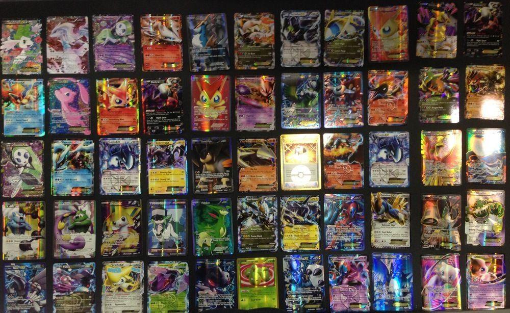 Guaranteed 1 ULTRA RARE GX//EX//MEGA 50 Pokemon Cards bulk lot shiny//rares