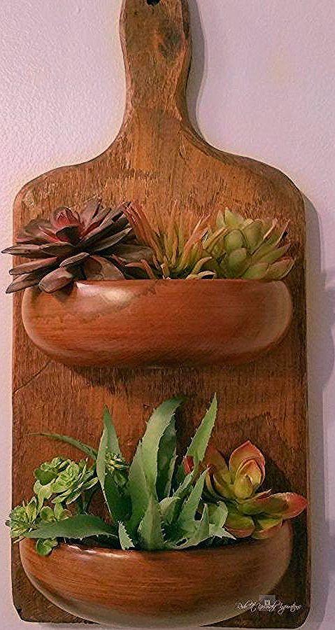 Photo of wiedergewonnenes Holz Pflanzer, Kunsthandwerk, DIY, Gartenarbeit, Wohnkultur