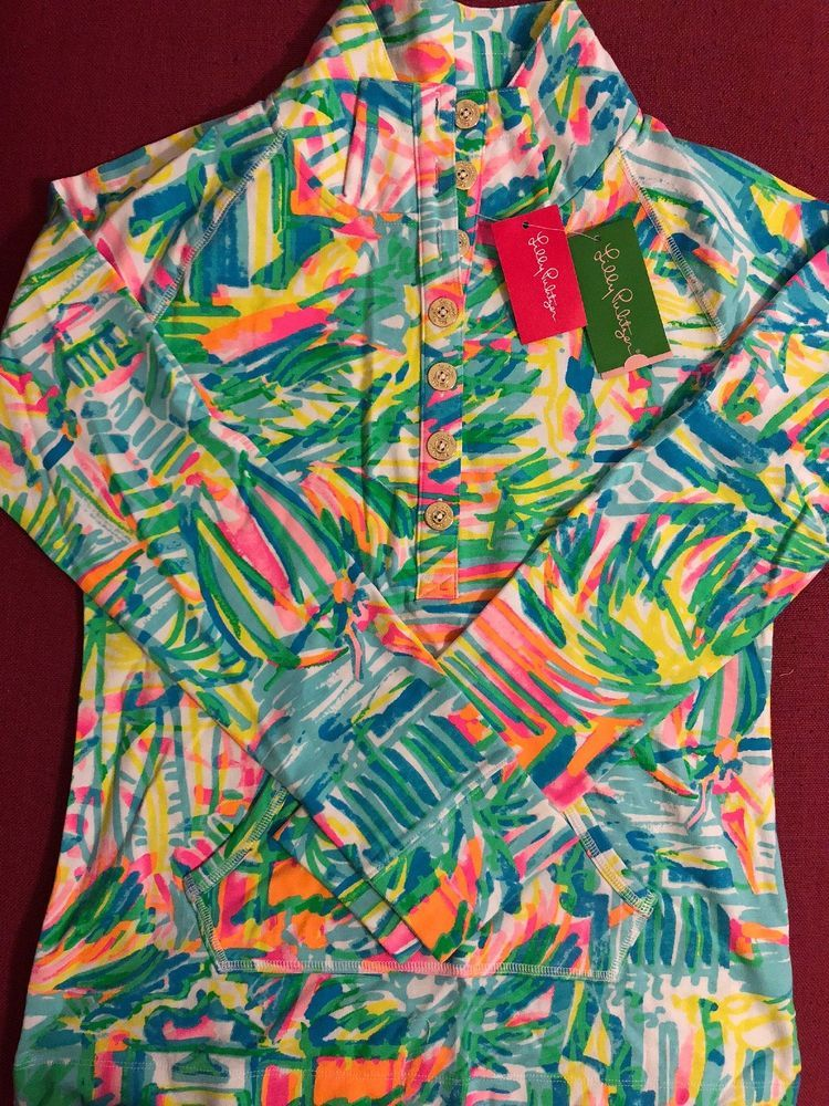 065ed9accaf Lilly Pulitzer NWT Captain popover SALT SEA AND SUN (sailboats)-Org Price   98  fashion  clothing  shoes  accessories  womensclothing  activewear  (ebay link)