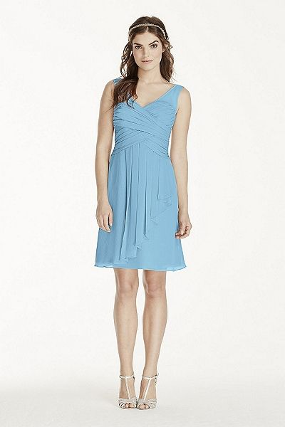 NEW! - Illusion Tank Dress with Short Cascade Skirt Style W10844 ...
