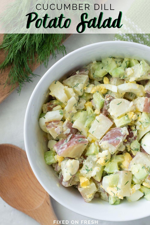 Potato Salad With Dill Cucumber