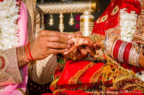 Indian Wedding Ring Exchange Ceremony Http://maharaniweddings.com