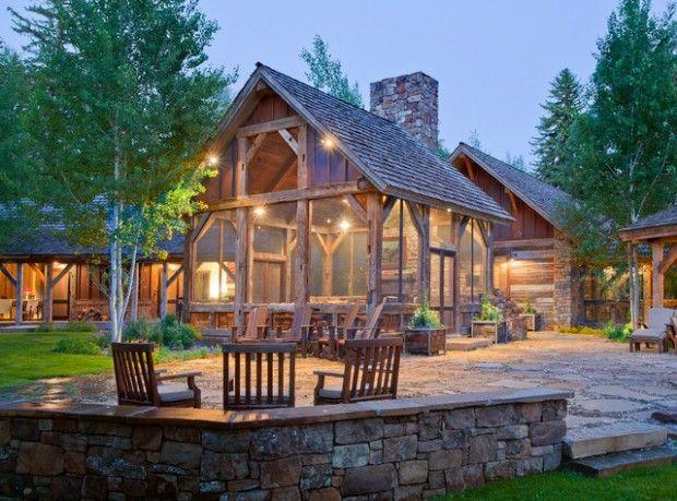 20 Amazing Rustic House Design Ideas Rustic House Outdoor Pavilion Pavilion Design