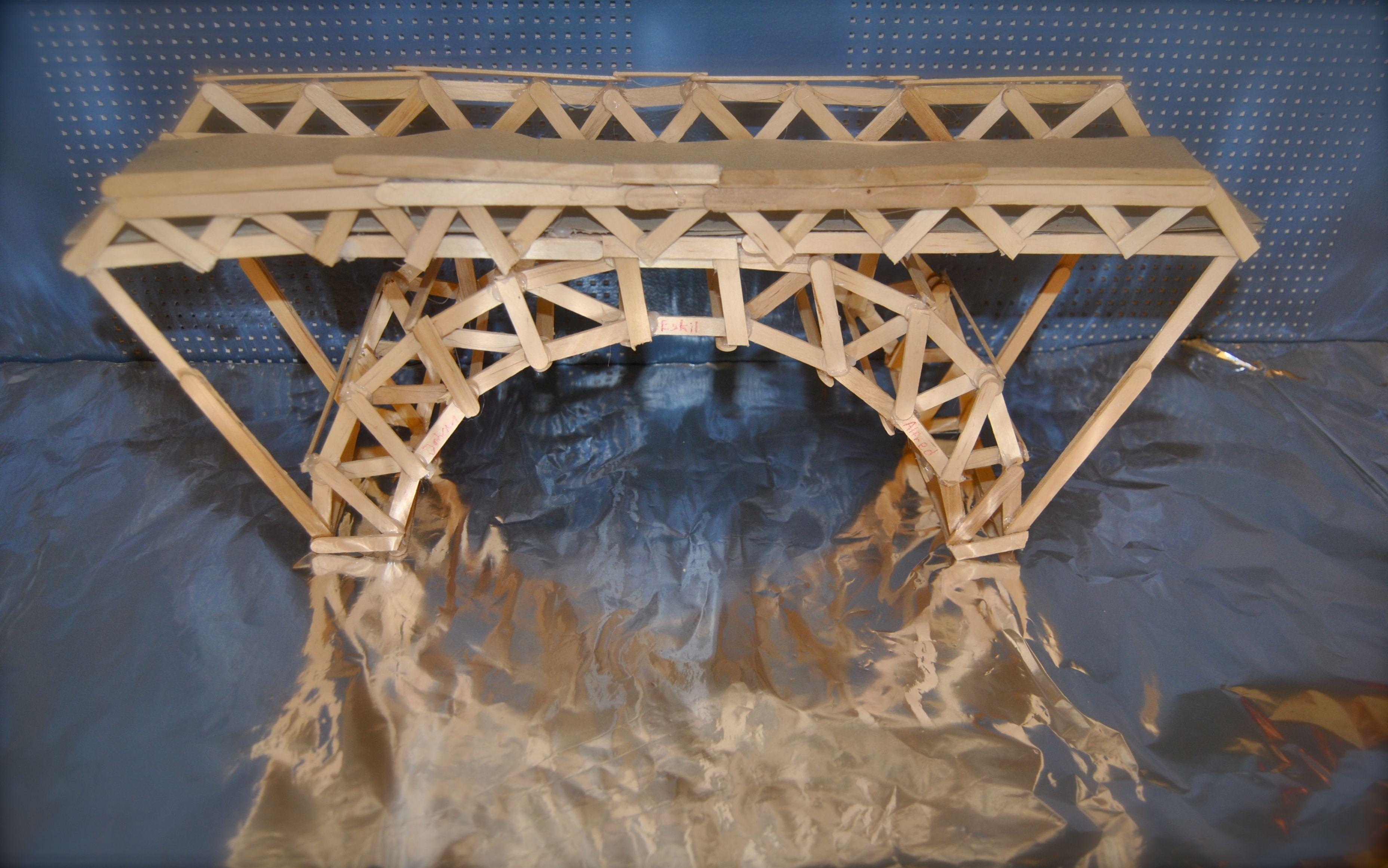 Åk 7- Konsten att bygga en bro  BoF och Teknik   Elevarbeten