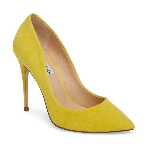 Steve Madden DAISIE - High heels - yellow BXfItNA