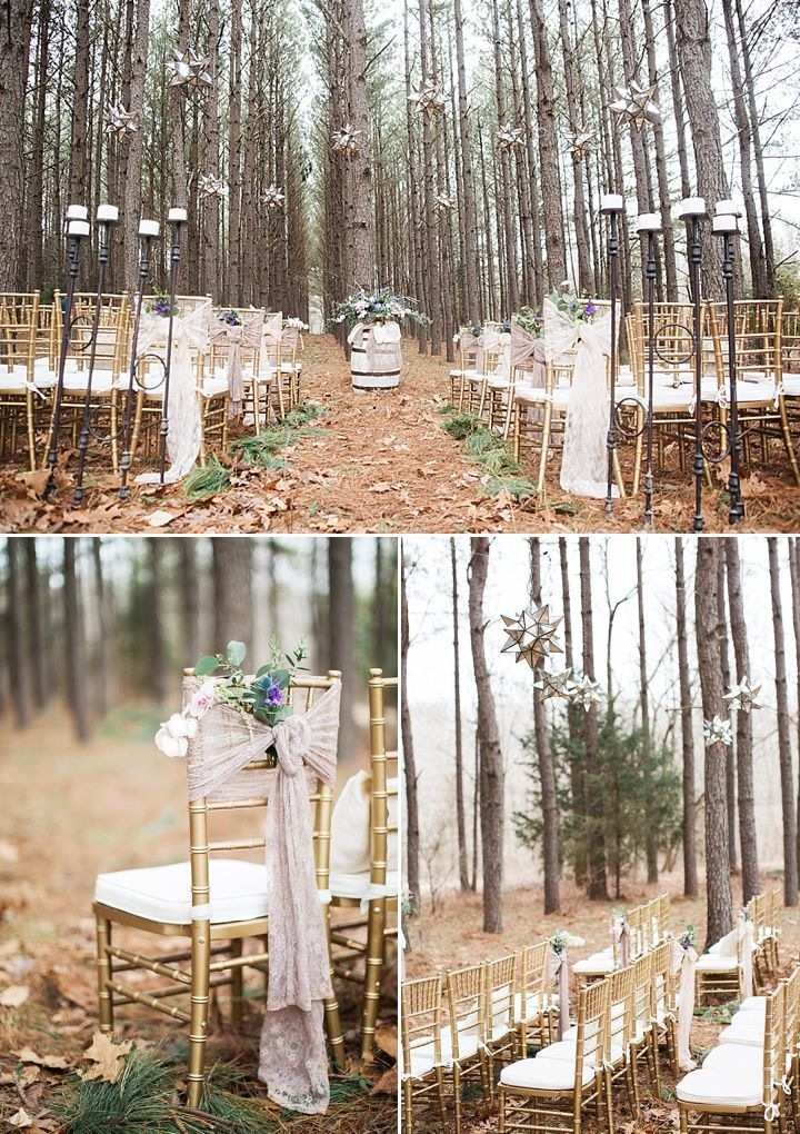 Outdoors Woodland Wedding Inspiration Boho Weddings Uk