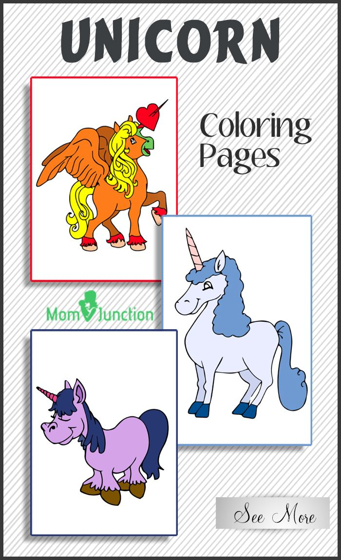 Top 25 Unicorn Coloring Pages For Toddlers | Pinterest | Unicorns ...