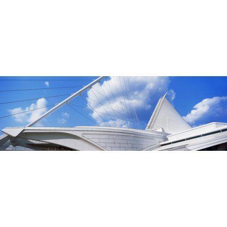 Art museum Milwaukee Art Museum Milwaukee Wisconsin USA Canvas Art - Panoramic Images (12 x 36)