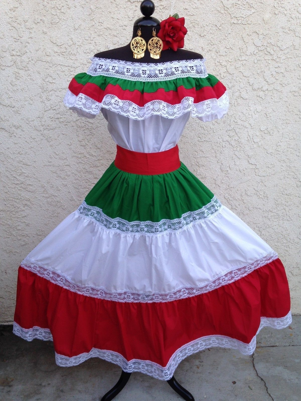 mexican fiesta cinco de mayowedding dress off shoulder w