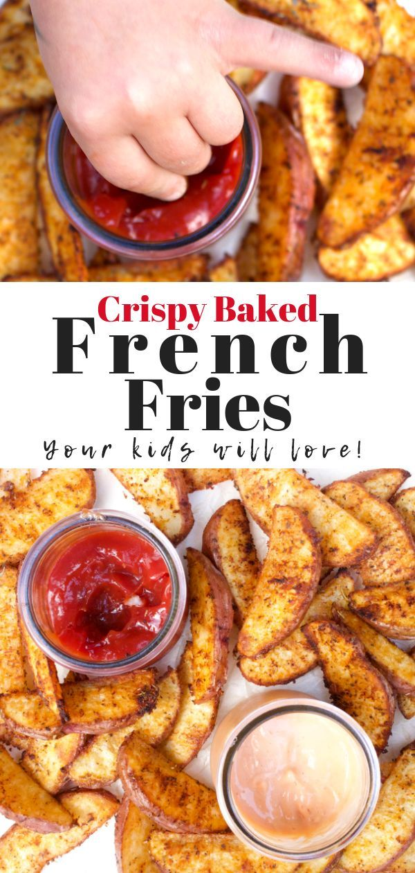 Crispy Baked French Fries images