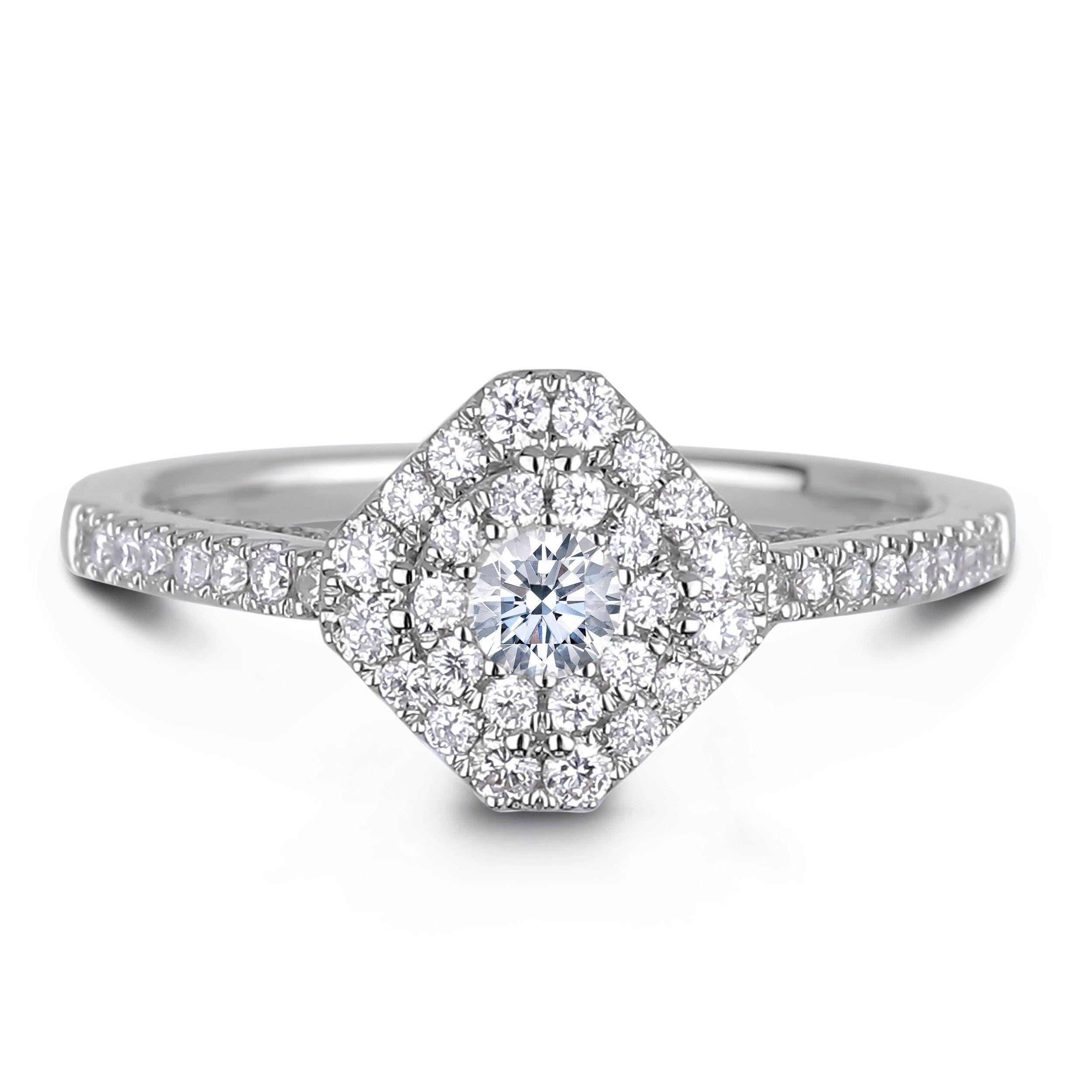 Lugaro Diamond Engagement Ring Sets Vancouver