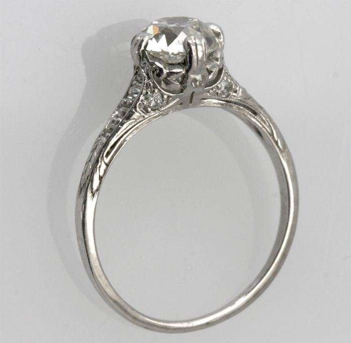 Another Beauty Megan Fox Brian Austin Green Engagement Ring Platinum Diamond