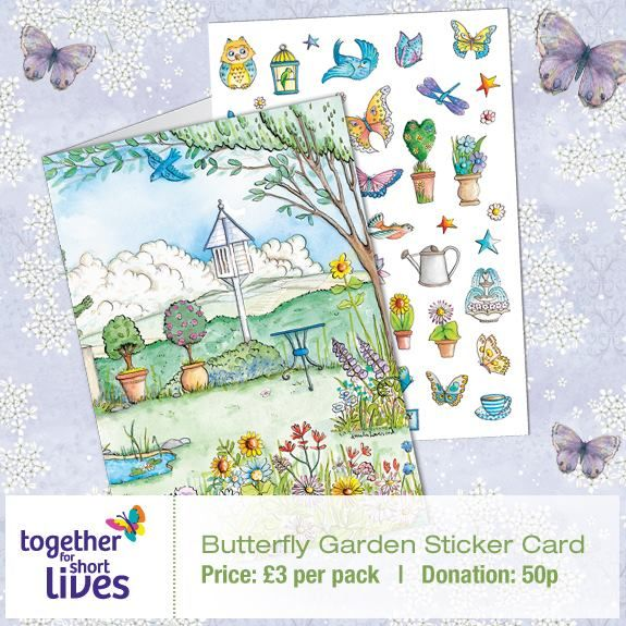 Phoenix Trading Butterfly Garden Sticker Card. £3. Create Your Own Card  With 45 Respositionable Stickers. 50p From The Sale Price Of This Card Will  Be ...