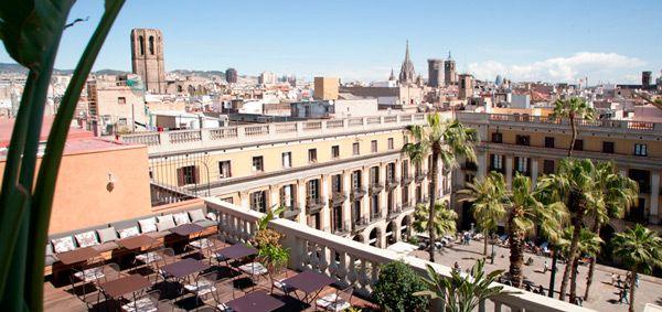The Rooftop Terrace Of Hotel Do Barcelona Terraza Azotea