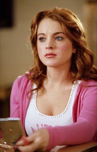 Lindsay Lohan As Cady Heron In Mean Girls Lindsay Lohan Mean