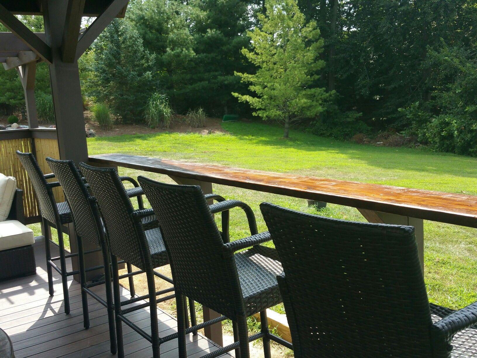 Pin by Rhonda Venuto on Outdoor Pavilion Hot Tub Bar Bamboo Fence