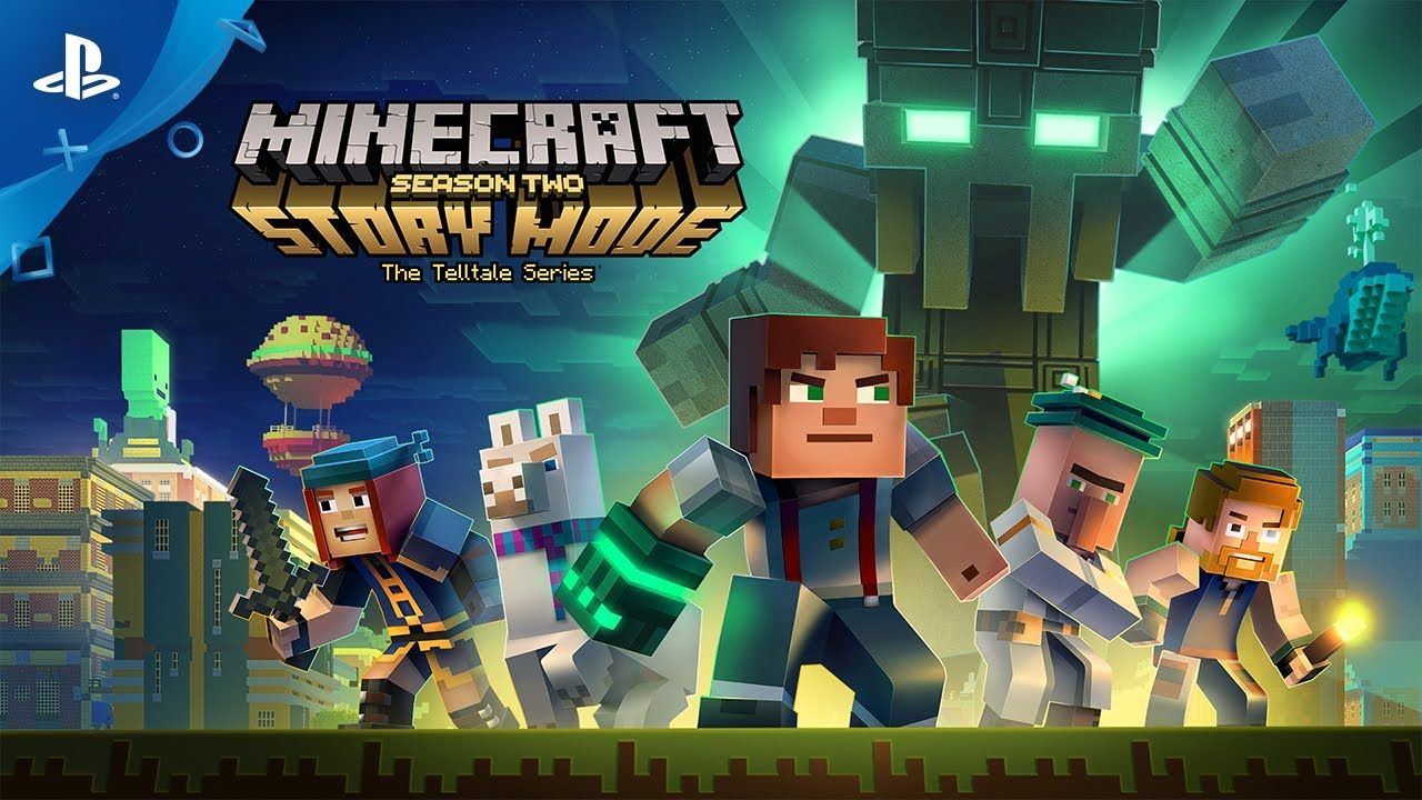 Minecraft Story Mode The Telltale Series Staffel Zwei PS Ab - Minecraft explore spiele