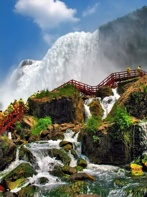 The Infinite Gallery : Side view of Niagara Falls !!!!