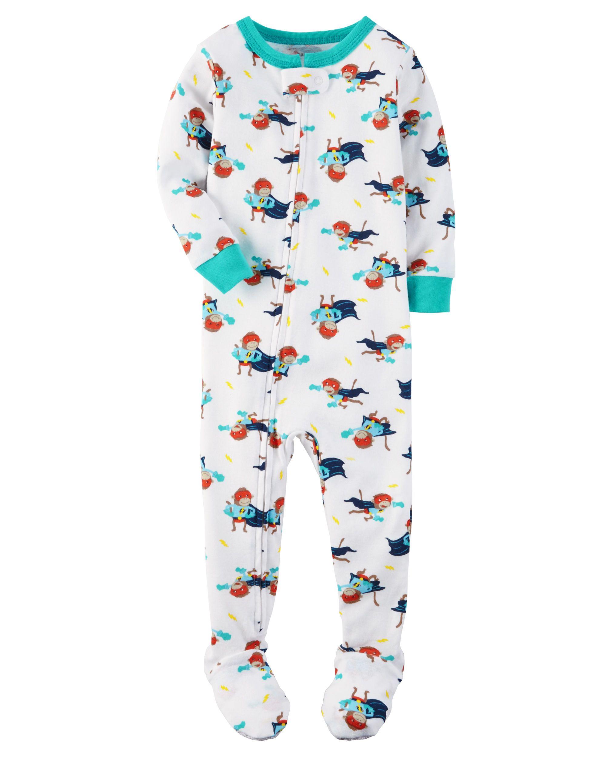df395b55a3e9 1-Piece Snug Fit Cotton PJs