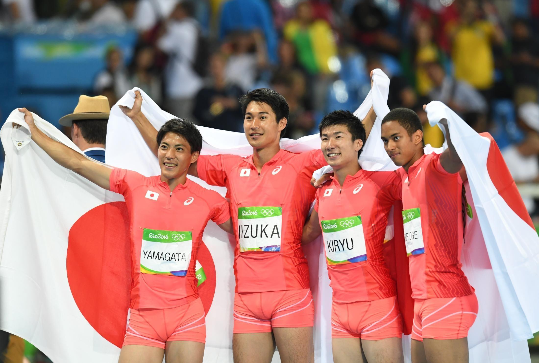 2016年リオ五輪・男子400mリレー...