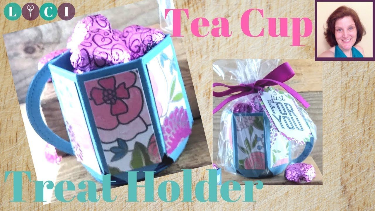 Envelope Punch Board Tea Cup/ Treat Mug Tutorial Stampin