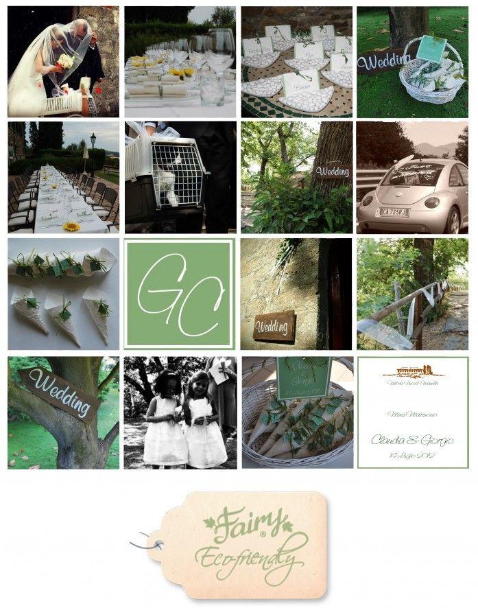 Matrimonio Ecologico Claudia e Giorgio www.fairyeco.com