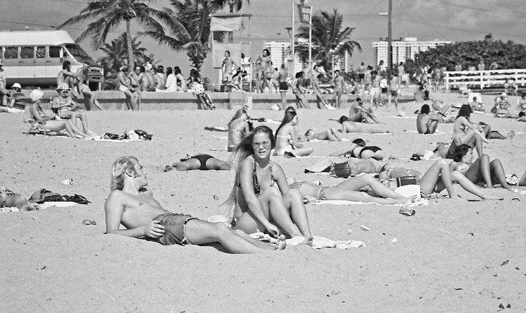 Photos From Haulover Beach In The 70s Show Life Before Social Media North Miami Beach Photo Beach
