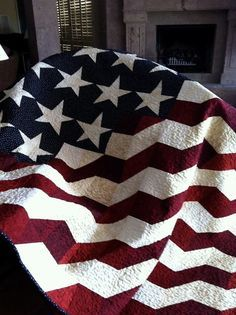 Featured Member Quilts: November 27 Afternoon - 24 Blocks | quilt ... : american flag quilts for sale - Adamdwight.com